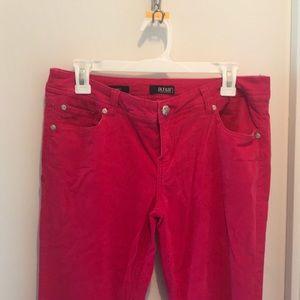 a.n.a. Pink Corduroy Skinnies